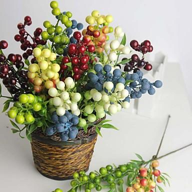 Ág Styro hab Szilícium-dioxid gél Növények Asztali virág Művirágok