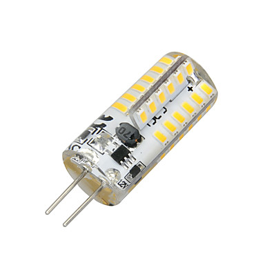 2W 100-200 lm G4 LED Mais-Birnen T 48 Leds SMD 3014 Warmes Weiß Wechselstrom 12V