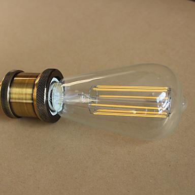 E27 4W st64led pitkä lamppu volframi baari Edison retro koriste jäljitelmä