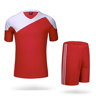 Homens Futebol Shorts shirt + Conjuntos de Roupas Calças Secagem Rápida Respirável Materiais Leves Primavera Verão Outono Inverno Clássico