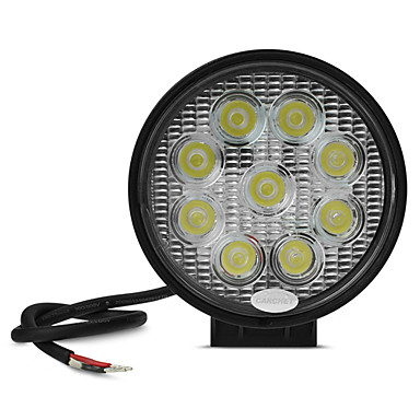 Bil Elpærer 2090lm 9 LED Arbeidslampe For Universell