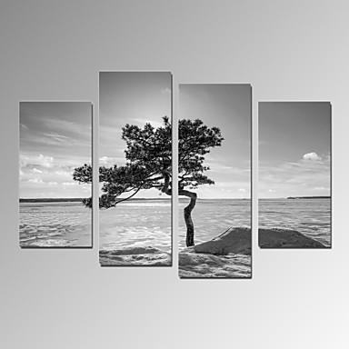 VISUAL STAR®Modern Home Decor Artwork Tree Stand on Desert Canvas Print Ready to Hang