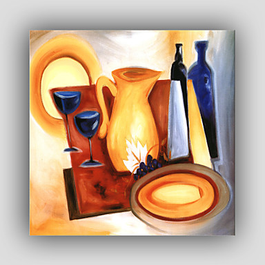 Oil Painting Hand Painted - Abstract Modern Realism Canvas