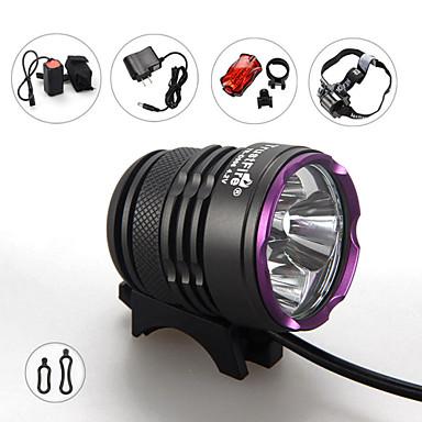 Headlamps Bike Lights LED 3600 Lumens 3 Mode Cree XM-L2 18650 Impact Resistant Rechargeable Waterproof Strike Bezel Tactical Emergency