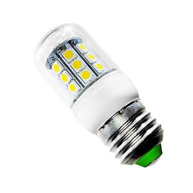 2,5W E26/E27 LED Mais-Birnen T 27 Leds SMD 5050 Warmes Weiß 150-200lm 2500-3500K AC 85-265V