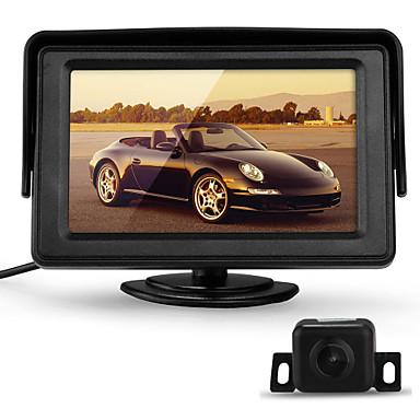 Câmera de Vista Traseira - CMOS Colorido de Alta Definição de 1/4 polegadas - 170° - 420 Linhas TV