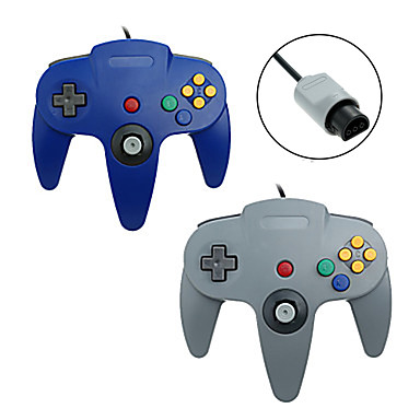 N64 Wired Game Controllers For Wii ,  Gaming Handle Game Controllers ABS 1 pcs unit