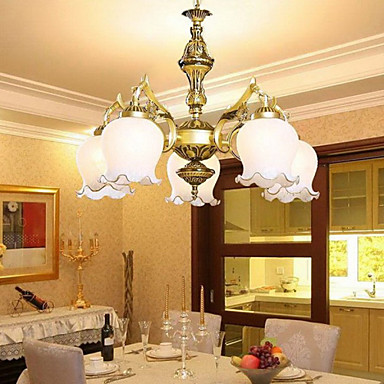 Rustikal/ Ländlich Retro Landhaus Stil Traditionell-Klassisch Ministil Kronleuchter Deckenfluter Für Wohnzimmer Schlafzimmer Esszimmer