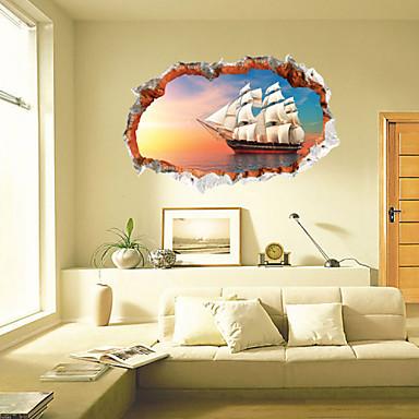 정물화 / 풍경 / 대중교통 벽 스티커 3D 월 스티커,pvc 60*90cm