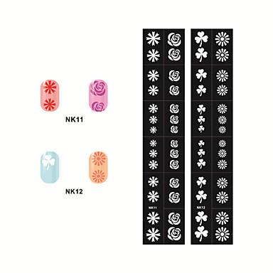 Hollow Out Nail Art Stickers NK11-12(2PCS)