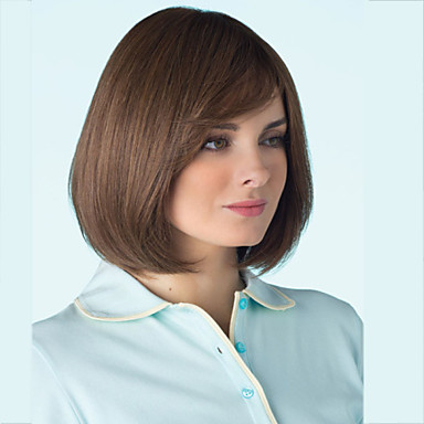 Top Grade Quality Synthetic Brown Color Hair Wig
