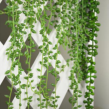 Kunstige blomster 1 Gren Moderne Stil Planter Veggblomst