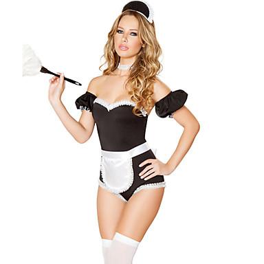 Karriere Kostüme Mehre Accessoires Frau Halloween Weihnachten Karneval Fest/Feiertage Halloween Kostüme Schwarz Patchwork