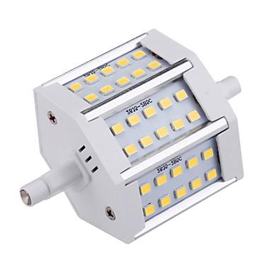 YWXLIGHT® 810 lm R7S LED-maissilamput T 30 ledit SMD 2835 Koristeltu Lämmin valkoinen Kylmä valkoinen AC 85-265V