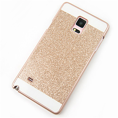 Case For Samsung Galaxy Samsung Galaxy Note Pattern Back Cover Glitter Shine PC for Note 5 Note 4 Note 3