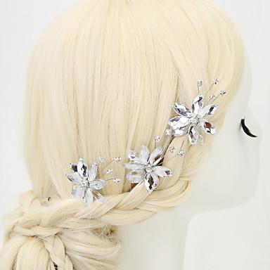 Rhinestone Alloy Hair Pin Headpiece Classical Feminine Style