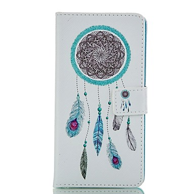 Case For Huawei P8 Lite P8 Huawei Case Wallet Card Holder with Stand Flip Full Body Dream Catcher Hard PU Leather for P8 P8 Lite