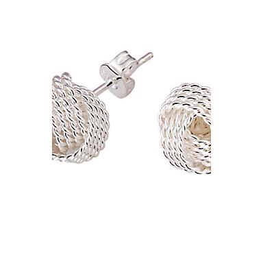 Pentru femei Cercei Stud - Argilă Elegant, de Mireasă Argintiu Pentru Nuntă / Petrecere / Zilnic
