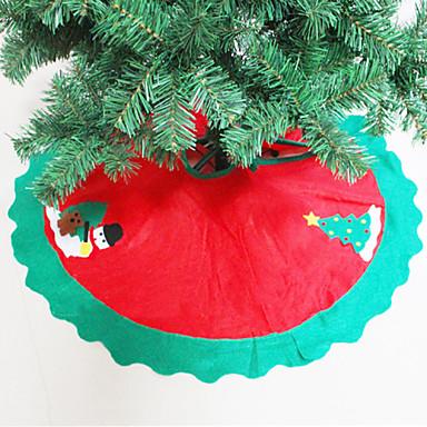 Weihnachtsbaum Schürze Baum Röcke Weihnachtsbaum Ornamente home party decor glücklich Weihnachtsdekoration liefert