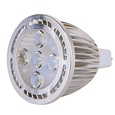 GU5.3(MR16) Lâmpadas de Foco de LED MR16 5 leds SMD Decorativa Branco Quente Branco Frio 630lm 2800-3200/6000-6500K AC 85-265 AC 12V