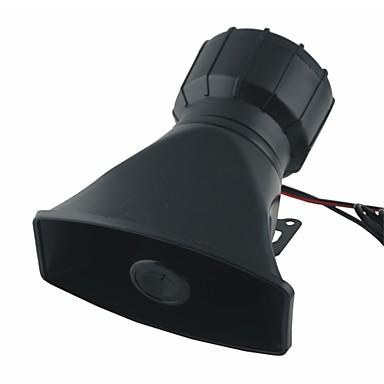 60W DC 12V 5 sävyjä elektroninen sireeni torvi w mikrofoni autoihin