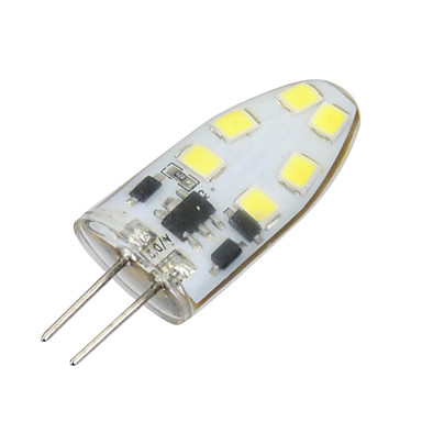 g4 led bi-pin lights t 12 smd 2835 200lm branco quente branco frio 3000k / 6000k dimmable ac 12v