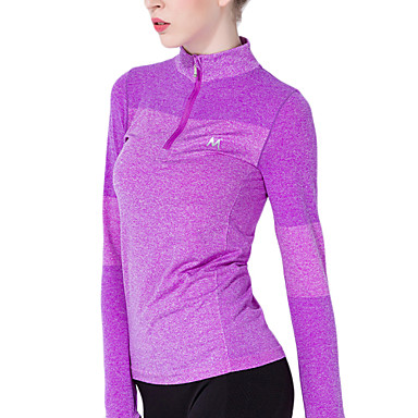 Yoga Tops Breathable/Stretch/Sweat-wicking/Soft Stretchy Sports Wear Yoga/Pilates/Fitness/Running Women's