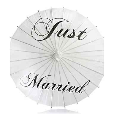 billige Vifter og parasoller-Fest / aften / Avslappet Materiale Bryllupsdekorasjoner Asiatisk Tema / Ferie / Klassisk Tema Alle årstider