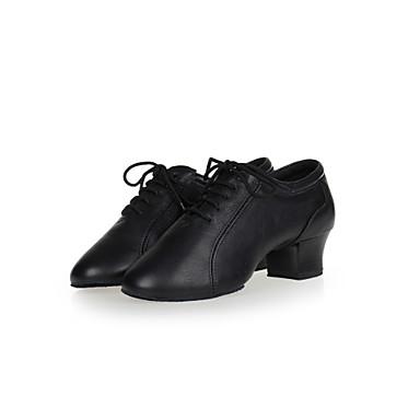 Sapatos de Dança ( Preto ) - Mulheres / Homens - Não Personalizável - Ventre / Latim / Jazz / Sapatilhas de Dança / Moderno / Samba