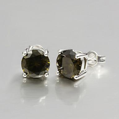 Earring Stud Earrings Jewelry Women Wedding / Party / Daily / Casual Zircon 1set