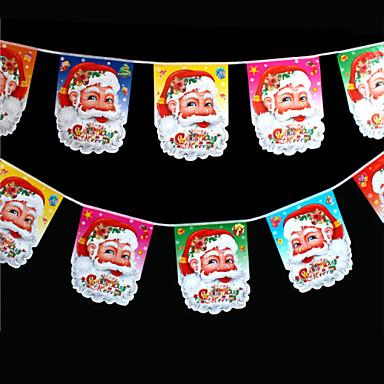 6本のデザインは、クリスマスツリーの飾りクリスマスのギフトをofing役割ペアを行動ハングランダムな色の装飾のギフトリング杖の鐘であります