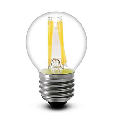 E26/E27 LED Filaman Ampuller G45 4 COB 400 lm Sıcak Beyaz Kısılabilir AC 110-130 V 1 parça