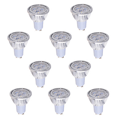 6W GU5.3(MR16) Lâmpadas de Foco de LED MR16 4 COB 540 lm Branco Quente / Branco Frio Decorativa AC 85-265 V 10 pçs