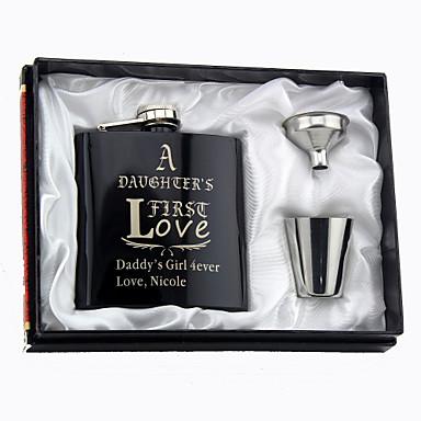 Stainless Steel Hip Flasks Congratulations Wedding Gifts Beautiful