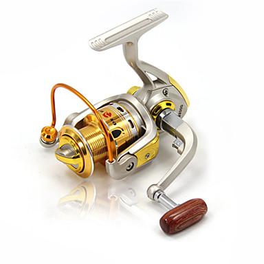 Spinning Makaralar 5.2:1 Dişli Oranı+10 Rulmanlar El Yön Değiştirilebilir Deniz Balıkçılığı Buzda Balıkçılık Döner Tatlı Su Balıkçılığı