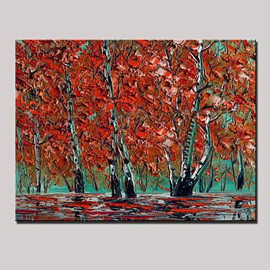 Hang festett olajfestmény Kézzel festett - Landscape Modern Vászon