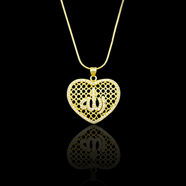 Pendants Metal / Rhinestone Heart Shape As Picture 1