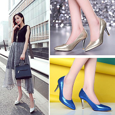 Cône Printemps Rouge 04699913 Confort Mariage Doré Talon Femme Chaussures Similicuir Automne Bleu Eté Combinaison Habillé ZqwFZ0EU