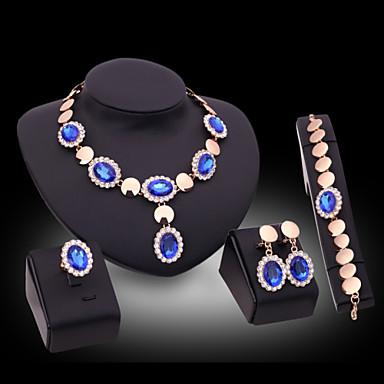 Slatko / Zabava - Žene - Ogrlica / Naušnica / Narukvica / Prsten (Pozlaćeni nakit / Legure / Drago kamenje i kristali / Kubični cirkon)
