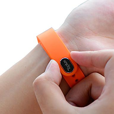 Toplux® E02 Aktivite Takipçisi Akıllı Saat Akıllı BileklikSu Resisdansı Yakılan Kaloriler Adım Sayaçları Ses kontrolü Alarm Saati Uyku