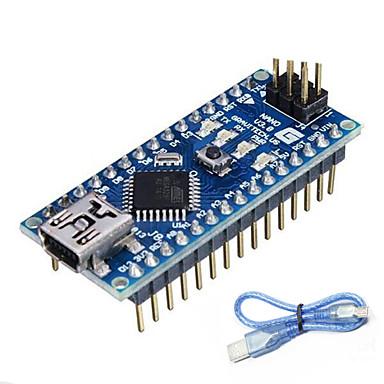 nano v3.0 atmega328p for Arduino (fungerer med offisielle Arduino styrene)