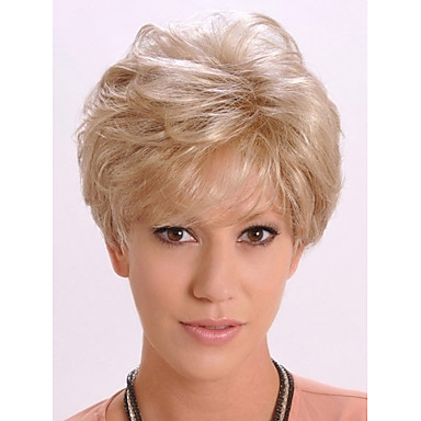 Synthetic Wig Wavy Women's Capless Carnival Wig Halloween Wig Short Synthetic Hair