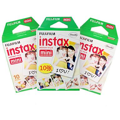 Új FUJIFILM instax mini film 30 lap sima szélén instant fotó kamera mini 7s 8 25 50-es 90