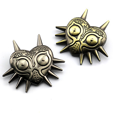 Jewelry Inspired by The Legend of Zelda Cosplay Anime/ Video Games Cosplay Accessories Badge Brooch Alloy Men's