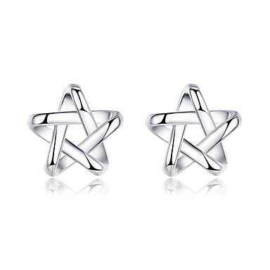 Men's / Women's Stud Earrings - Sterling Silver For Wedding / Party / Daily