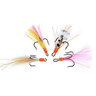 4 db Mamac za ribe Legyek PVC Műlegyező horgászat