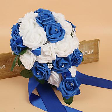 Bouquets de Noiva Buquês Casamento Seda Espuma 12.6