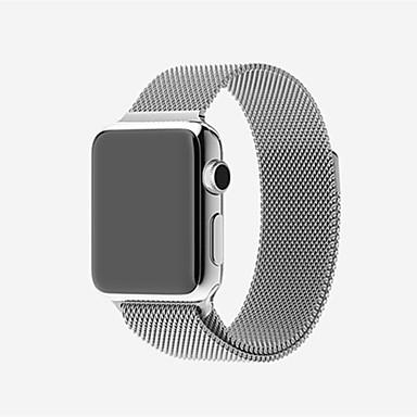 Klokkerem til Apple Watch Series 3 / 2 / 1 Apple Milanesisk rem Rustfritt stål Håndleddsrem