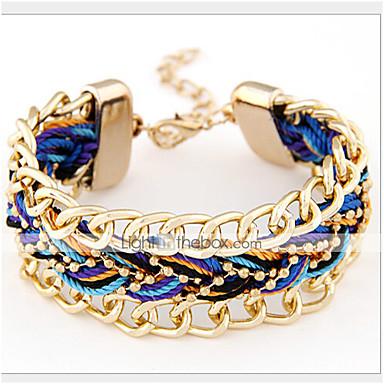 Gipke i čvrste narukvice Slatko Zabava Nakit sa stilom Slatka Style Tekstil Legura Jewelry Party