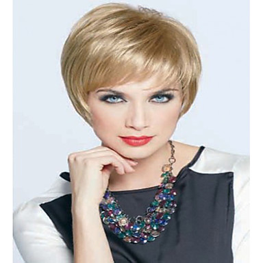 New Arrival  Blonde  Color Charming Short  Syntheic  Wig